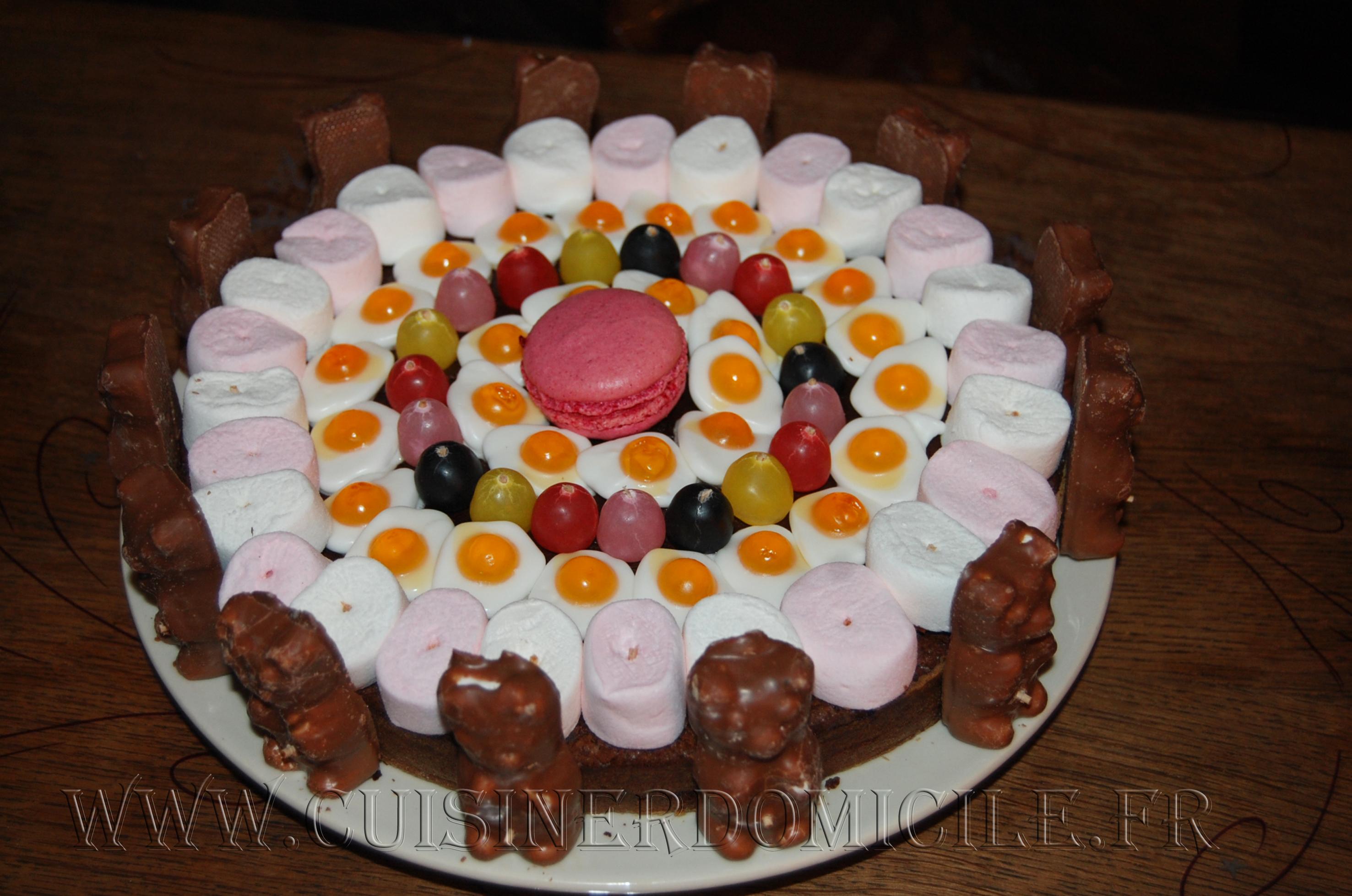gateau bonbon chocolat